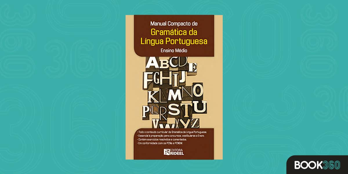Manual Compacto de Gramática. Língua Portuguesa e Ensino Médio
